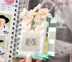 The first 6 weeks - My Memory Planner, adding extra pages #heidiswapp #heidiswapphellotoday