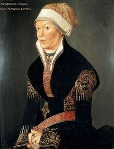 1530s Attributed to Conrad Faber von Kreuznach - Portrait of a Woman