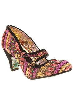 8c5a259a64c2 Irregular Choice Candy Whistle Sequins Irregular Choice Shoes