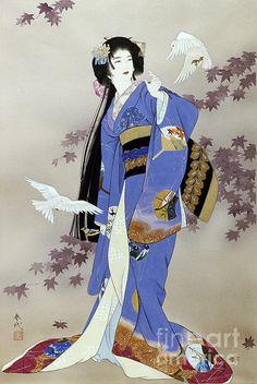 Sachi Print By Haruyo Morita