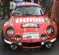 Jean-Pierre Manzagol, Alpine-Renault A110, 1975 Tour de Corse