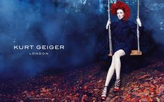 Karen Elson by Erik Torstensson for Kurt Geiger Fall/Winter 2014/2015 Campaign