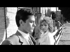 "Monica Vitti & Alain Delon -""L'Eclisse"" - Night In White Satin"
