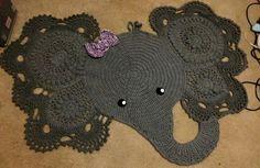Amazing elephant rug
