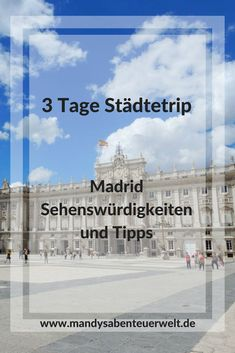 Madrid Sehenswürdigkeiten und Tipps – 3 Tage Städtetrip Madrid is not really known for certain sights, but there is so much to discover in Madrid … # city trip Top Europe Destinations, Reisen In Europa, Travel Companies, Indoor Garden, Travel Guide, Spain, Places, City Guides, Tips