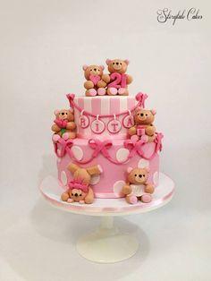 forever friends themed cake <3