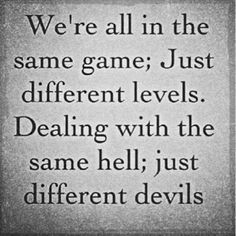Different Levels Different Devils