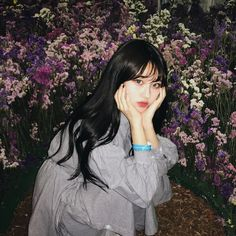 Ulzzang Korean Girl, Ulzzang Couple, Pretty Girls, Cute Girls, Cute Korean, Wattpad, Pink Hair, Girl Photos, Color Mixing