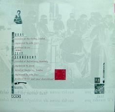 "Xmal Deutschland - Qual (12"" back cover)"