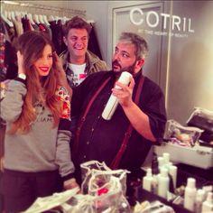 Makeup&hair Chiara Nasti #testimonial #maisonespin #fw14 #collection #lovely #backstage #madewithlove #lollo #cotril  #fabiocastelli