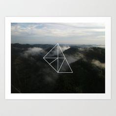Geometry Art Print by Geometry - $22.88