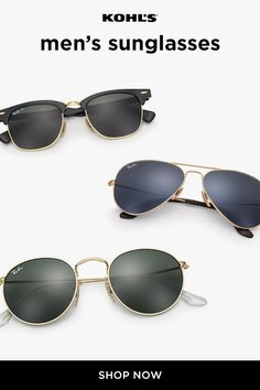 c00741bffc Shop men s Ray-Ban sunglasses at Kohl s for effortless style. Plus
