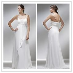 A-line #Square #Sweep/#Brush Train #Chiffon Floor-length #Wedding #Gowns 04334  US$203.40     Find it here.... http://www.honeydress.com/b/A-line-Square-Sweep-Brush-Train-Chiffon-Floor-length-Wedding-Gowns-04334.html#.UAfM1Ifxr3A?utm_source=SNS%5FSource_medium=SNS%5FPinterest_term=Pinterest_campaign=Pinterest%5FPost_nooverride=1  ...