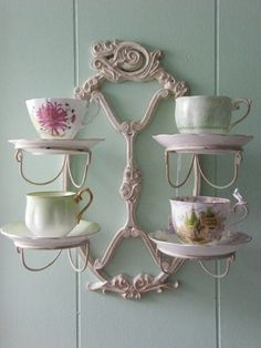 Special tea cup display.....