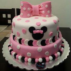 #cake #minniemouse