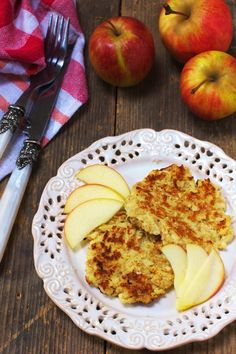Placuszki z Jabłek Just My Delicious