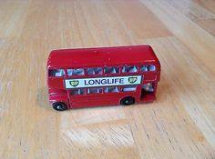 VINTAGE 1965 MATCHBOX LESNEY BP LONGLIFE BUS MB5 MADE IN ENGLAND CAR - http://www.matchbox-lesney.com/51078