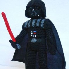 Grab this Super Cute FREE Darth Vader Amigurumi Crochet Pattern. Or browse more Star Wars Patterns and many other Genres • wixxl.com