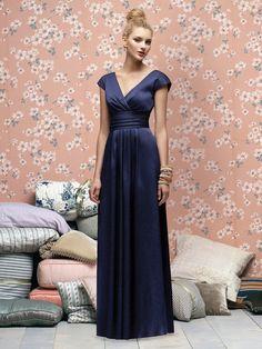 Modest Column V Neck Floor Length Chiffon Bridesmaid Dress  cheap bridesmaid dresses-in Bridesmaid Dresses from Apparel  Accessories on Ali...