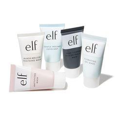 F Cosmetics UK for new face makeup Multi-Mask Kit. Gentle Peeling Exfoliant, Mattifying Clay Mask, and more. Face Mask For Spots, Face Masks, Multi Masking, Pore Mask, Skin Mask, Gel Mask, Hydrating Mask, Peel Off Mask, Perfume