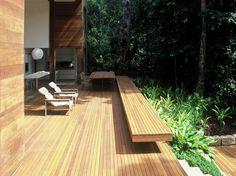 Bench for the patio or garden