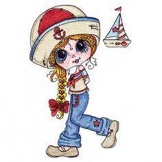 Little Sailor (5x7)   Quite-a-stitch