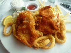Fog Harbor Fish House: Comida deliciosa