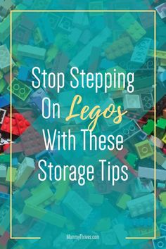 Lego Storage Tables and Ideas - Lego Storage and Organization Ideas - Under Bed Lego Storage Small Space Organization, Home Organization Hacks, Organization Ideas, Lego Table With Storage, Lego Storage, Organizing Clutter, Organizing Your Home, Step On A Lego, Building For Kids