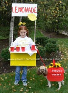 Lemonade Stand Homemade Costumes 1