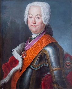 2/3. August-Ludwig I. von Askanien, 7th Prince of Anhalt-Koethen (1697–1755) — a German monarch and Prussian military leader.
