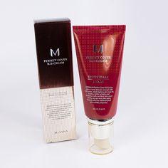 Missha 8806333353729 Perfect Cover BB Cover Light Beige No. Skin Firming, Skin Brightening, Korean Beauty, Korean Makeup, Missha, Cream Cream, Unisex, Light Beige, Collagen