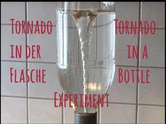 Tornado in der Flasche Experiment, Tornado in a Bottle/Cyclone /Zyklon/Wirbelsturm - YouTube