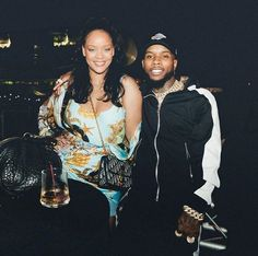 torylanez: we met in Barbados…ironically we're both bajans