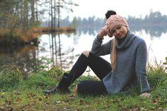 Handknitted Merino wool winter hat #Zizterz #KnitZizterz #Knitted #Pink #Knitwear #Handmade