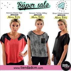 ¡Sigue el SÚPER SALE en Tiendadcm.com! ¿Te lo vas a perder? ➜ www.tiendadcm.com/products/list/brand/20939
