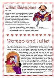 english worksheet romeo and juliet the newspaper article key alt pinterest worksheets. Black Bedroom Furniture Sets. Home Design Ideas