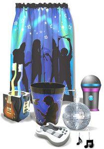 rock star theme bathrom | Rock Star Bathroom Collection Rock N Roll Music Theme | eBay