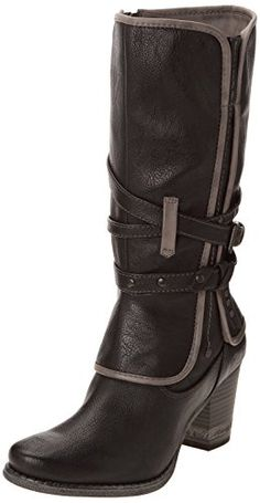 6494146b38bb Mustang Womens 1147-604-900 Boots Anthracite 6.5 UK