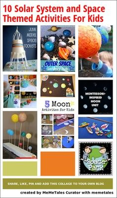 outer space kids crafts - Google Search