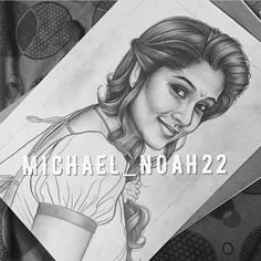 Mom Drawing, Drawing Stars, Pencil Sketch Drawing, Girl Drawing Sketches, Portrait Sketches, Pencil Art Drawings, Realistic Drawings, Portrait Art, Cute Drawings