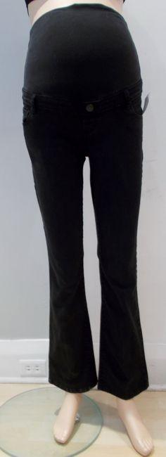 7d31d38e5fe55 Thyme Maternity black straight leg jeans 30