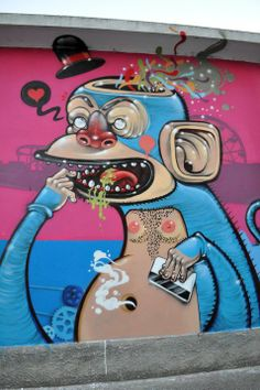 MR. THOMS http://www.widewalls.ch/artist/mr-thoms/ #street #art
