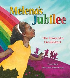 """(Tilbury House) After being sent to bed early the previous night, Melena wakes up to a new day with a song in her heart. At breakfast she learns she has been given a """"fresh start,"""" and she decides to celebrate by doing things differently for the rest of the day."""