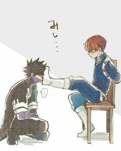 Good view ~ MHA: My Hero Academia . Good view ~ MHA: My Hero Academia … … - Anime Angel, M Anime, Fanarts Anime, Anime Naruto, My Hero Academia Shouto, My Hero Academia Episodes, Hero Academia Characters, Funny Anime Pics, Cute Anime Guys
