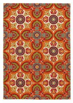 Tara Red Vermillion Rug | Wayfair