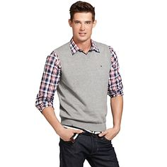 Tommy Hilfiger men's sweater. | Dapper Clothes | Pinterest | Men ...
