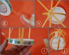 Blog da Tuty: Dica DIY - Como fazer gaiolas de passarinho de papel