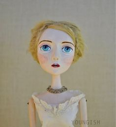 Lila Art Doll