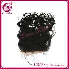 Cheap Wholesale Price Brazilian Virgin Hair Natural wave Silk Base Lace Top Closure In Stock