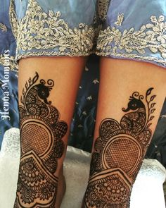 Geometric lattice topped with a peacock for legs Peacock Mehndi Designs, Lattice Top, Design Inspiration, Legs, Tattoos, Layout Inspiration, Tatuajes, Tattoo, Tattoo Illustration